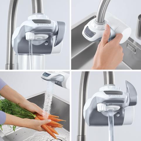 Utilizzo filtro acqua rubinetto