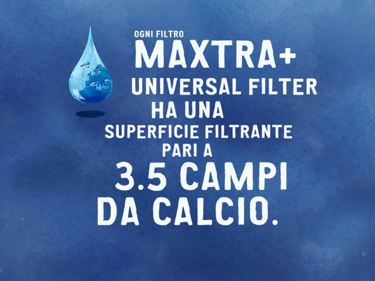 Filtro per acqua depurata