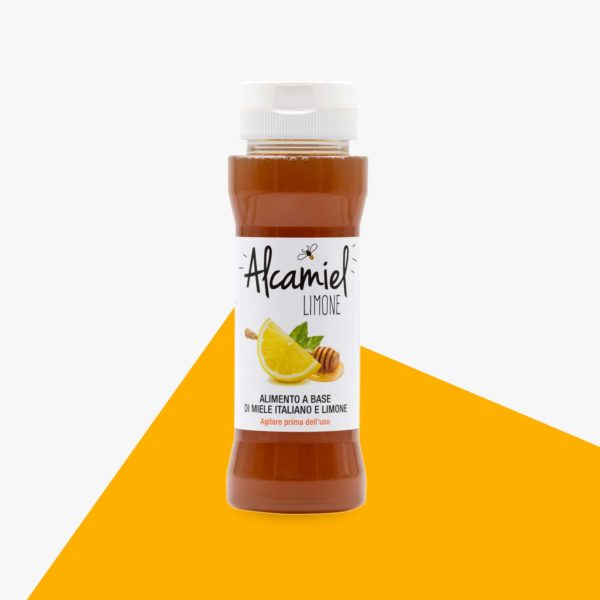 Miele italiano biologico e limone tisana alcamiel