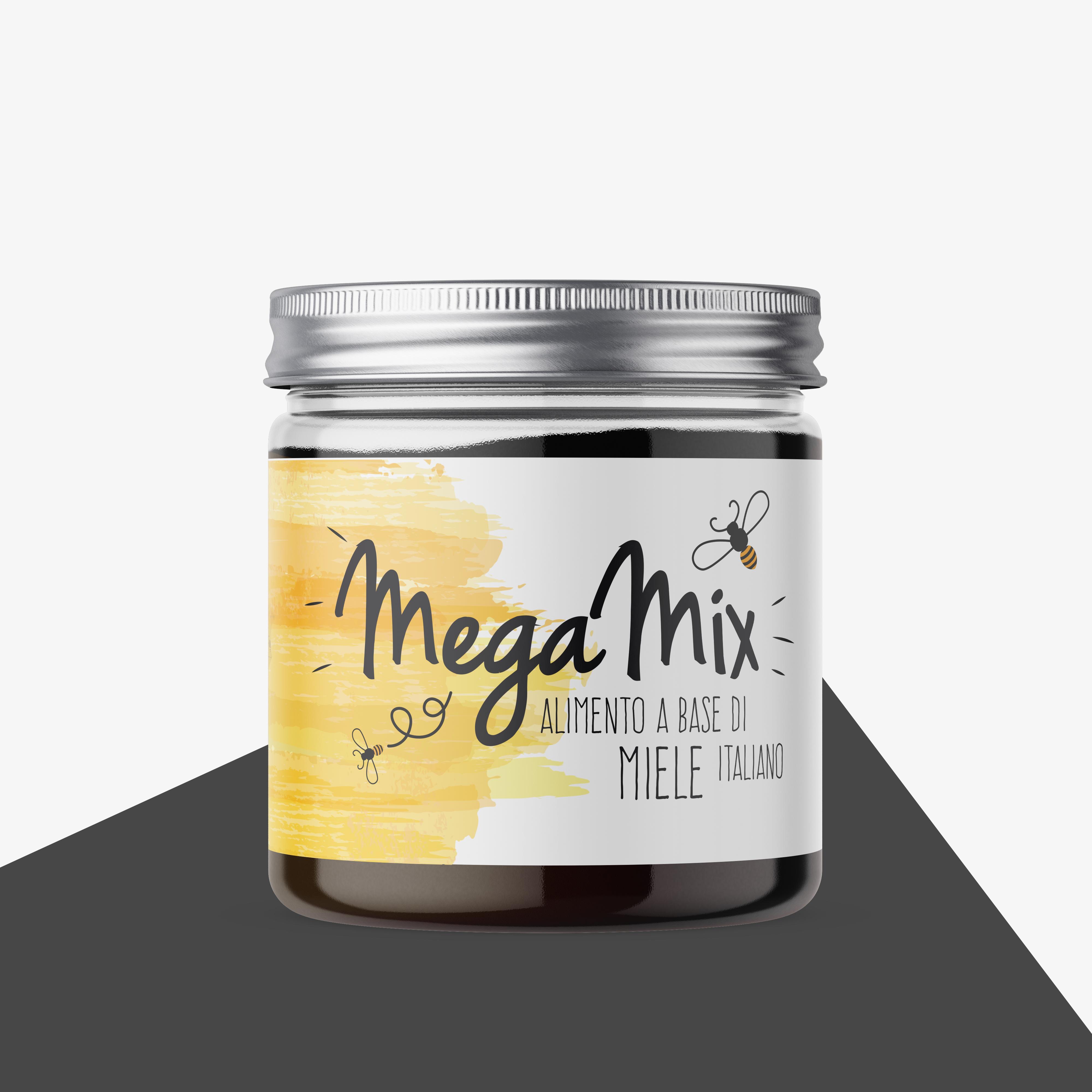 Megamix - Alimento a base di miele Italiano