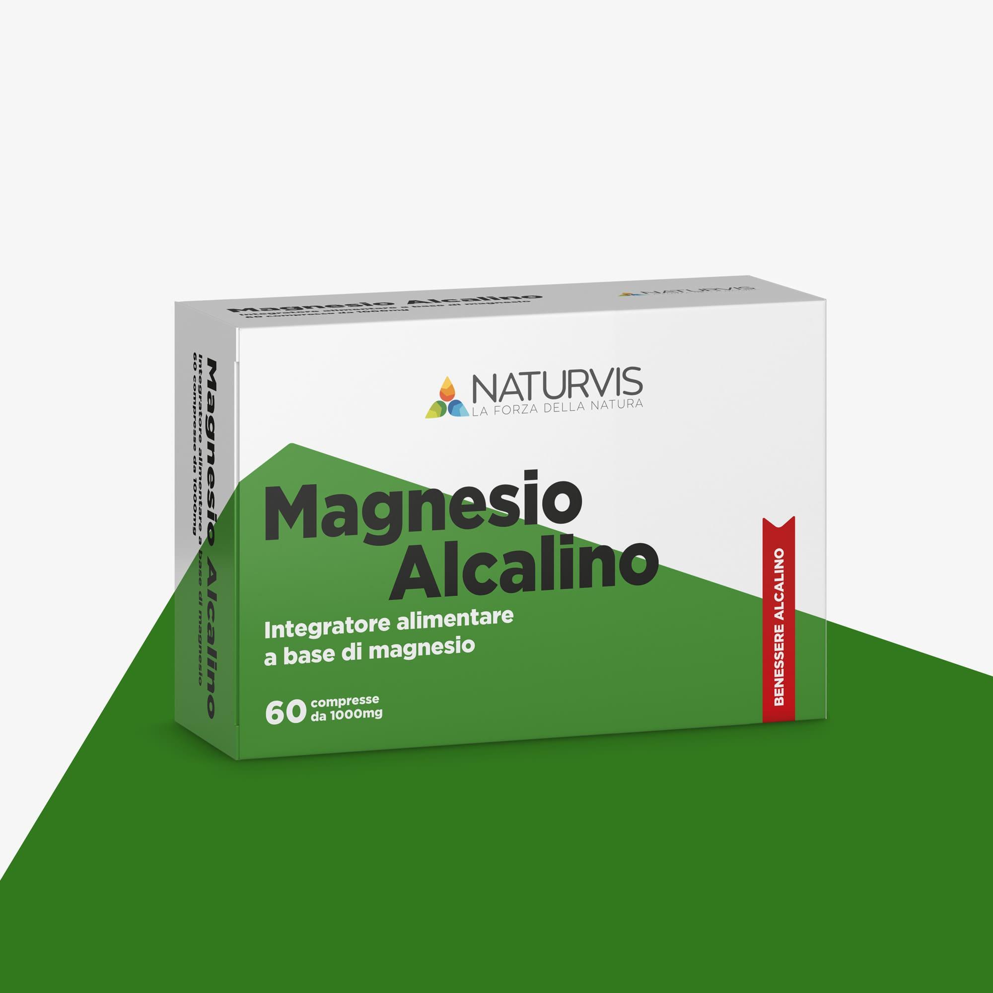 Integratore alimentare di magnesio in compresse