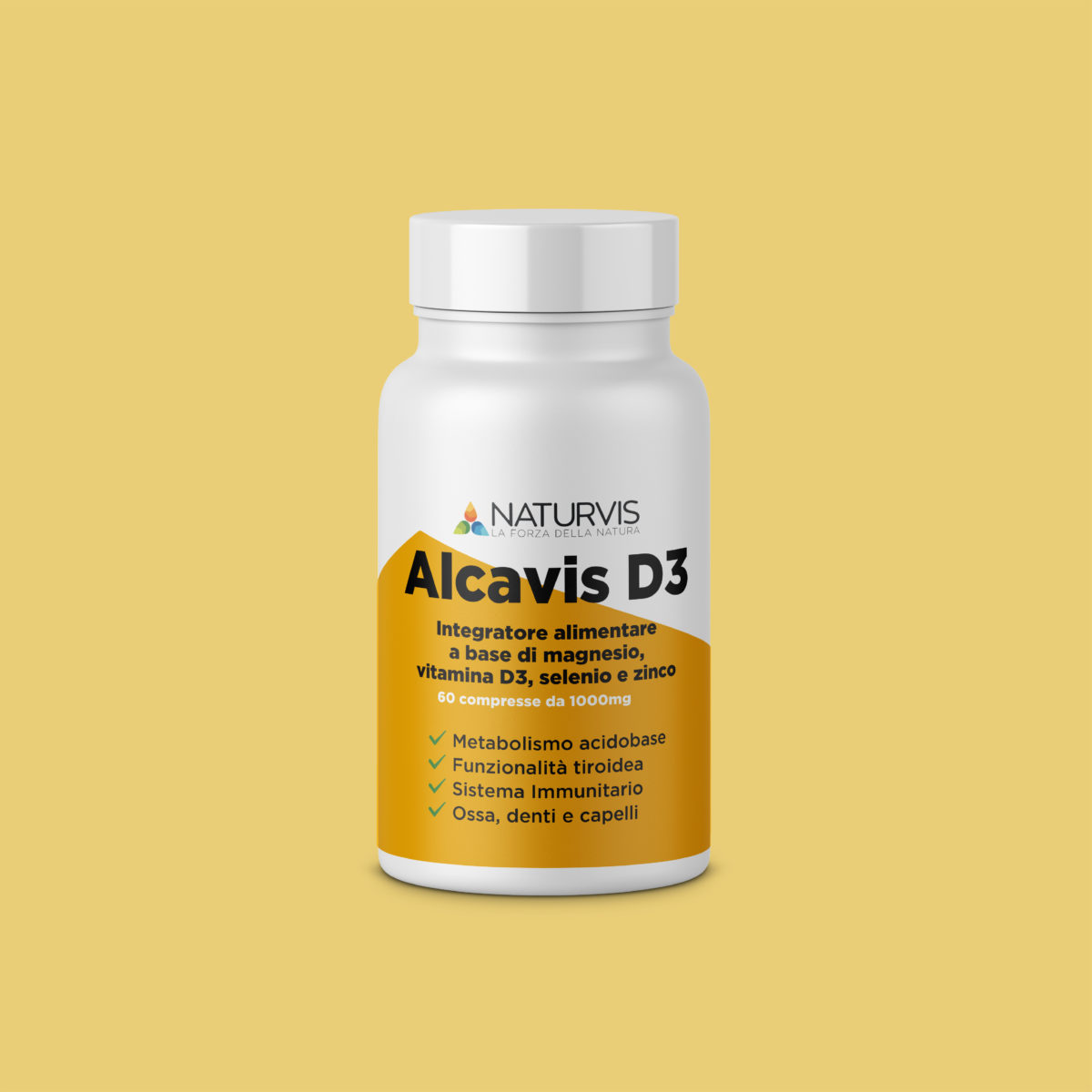Integratore di vitamina D3 zinco e selenio