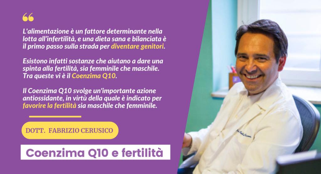 Coenzima Q10 e fertilità di coppia